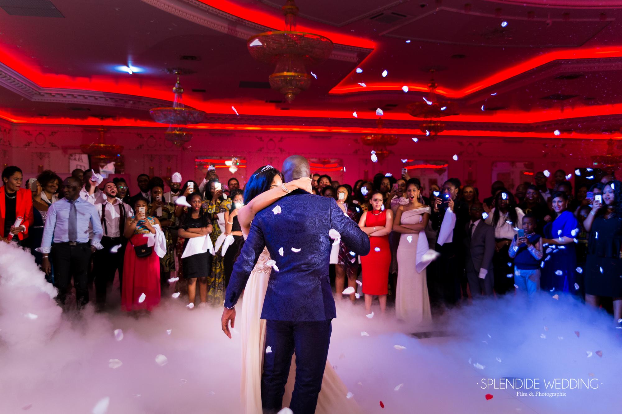 Photographe mariage Paris 19ème Chantal & Darius ouverture du bal