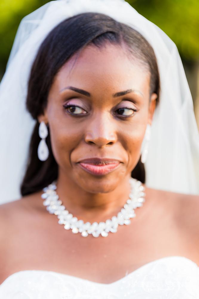 photographe mariage seine et marne portrait de la mariée