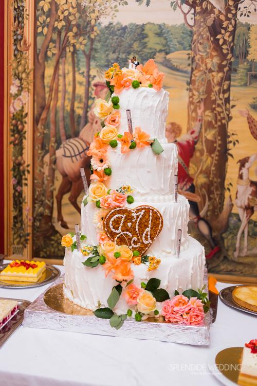 Le gateau des mariées