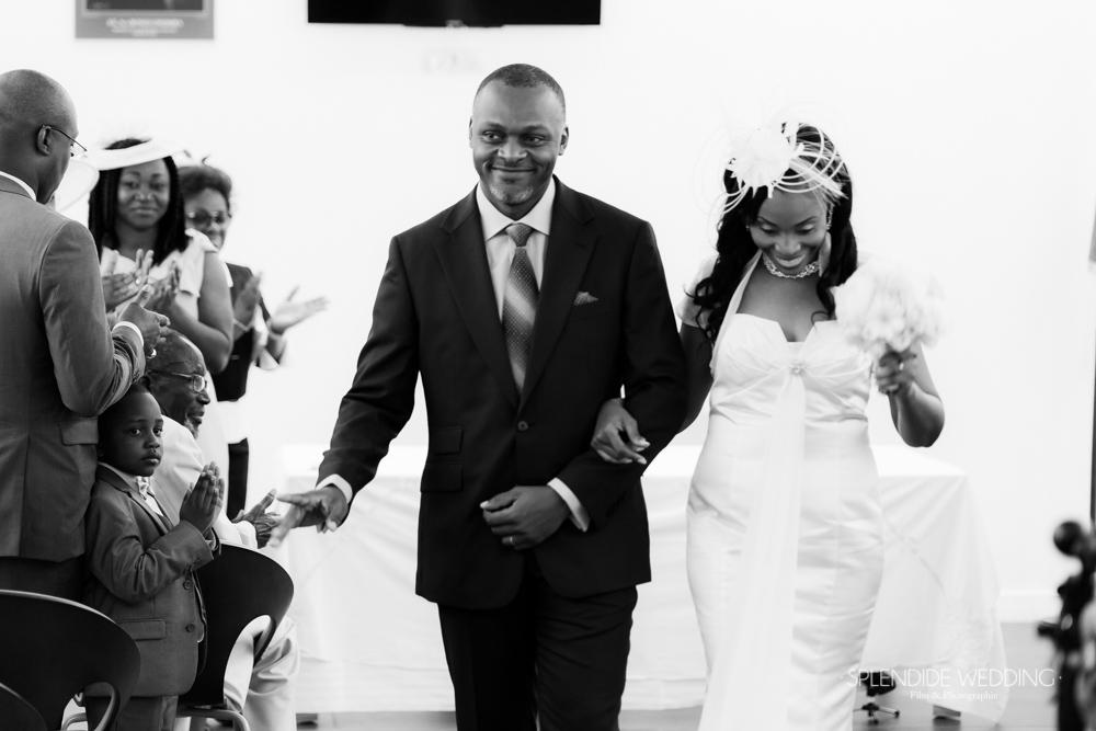 photographe mariage seine et marne sortie de l'ambassade du gabon