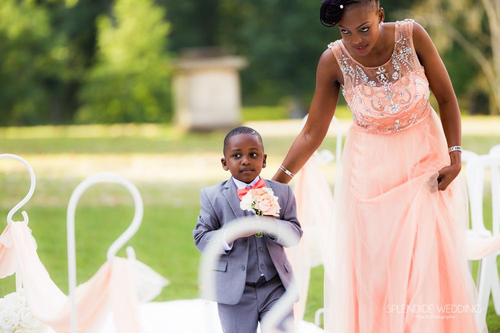 photographe mariage seine et marne photo mini garçon d'honneur