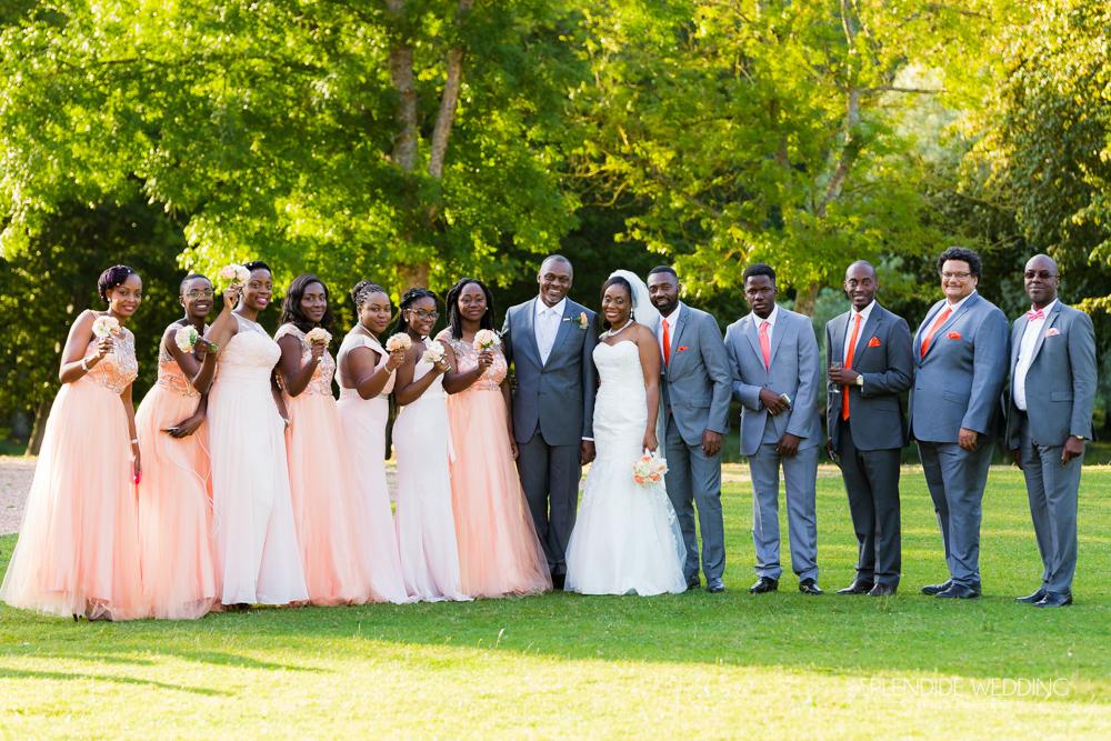 photographe mariage seine et marne photo de groupe