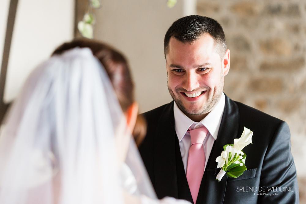 Photographe mariage seine et marne Un sourire qui ne ment pas