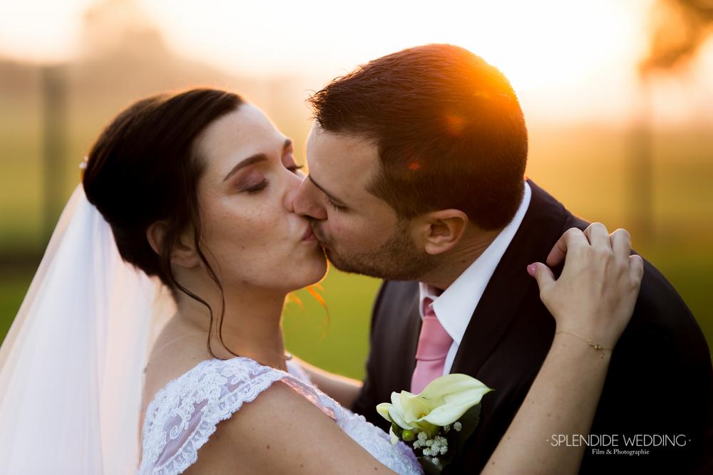Photographe mariage seine et marne le couché du soleil