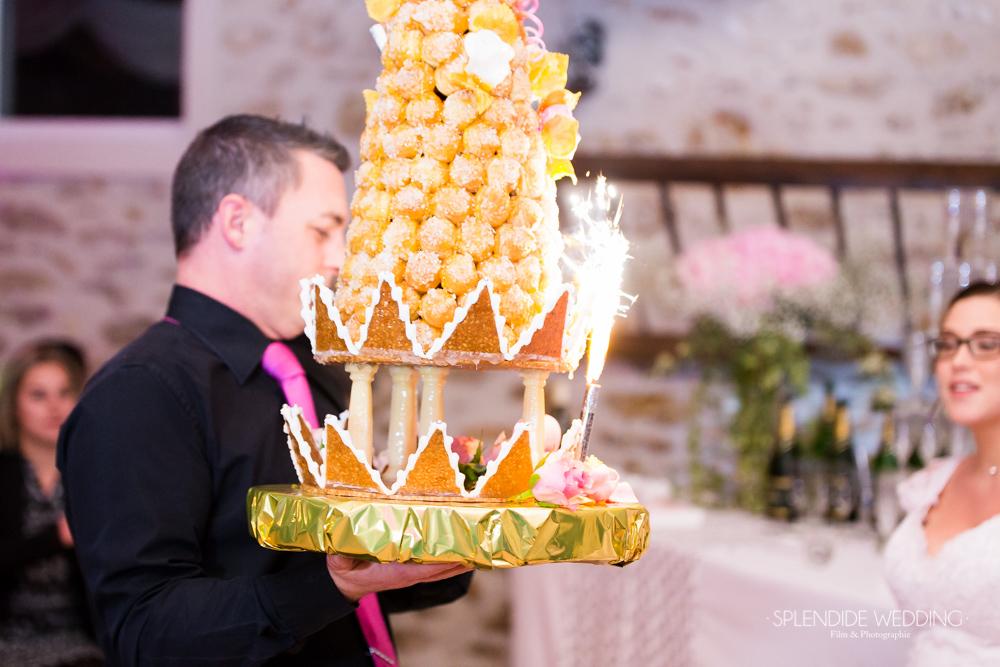Photographe mariage seine et marne La belle pièce montée