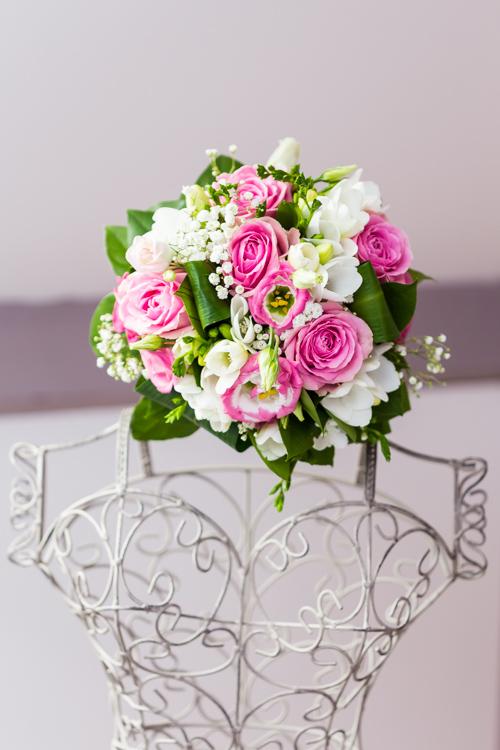 Photographe mariage seine et marne Le bouquet de la mariée