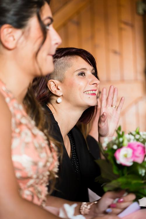 Photographe mariage seine et marne La soeur de la mariée
