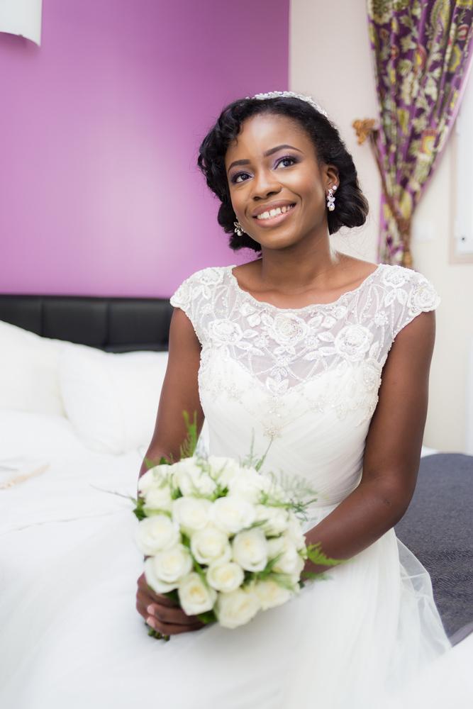 Photographe mariage préparatifs de la mariée