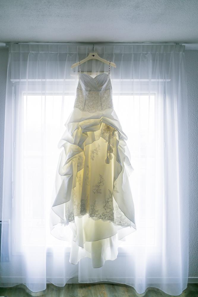 Photographe Mariage Bry sur Marne, robe de la mariée