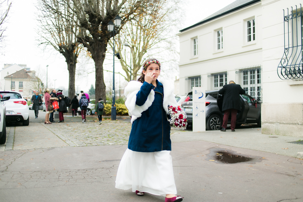 Photographe Mariage Bry sur Marne, tout le monde se dirige vers la mariée