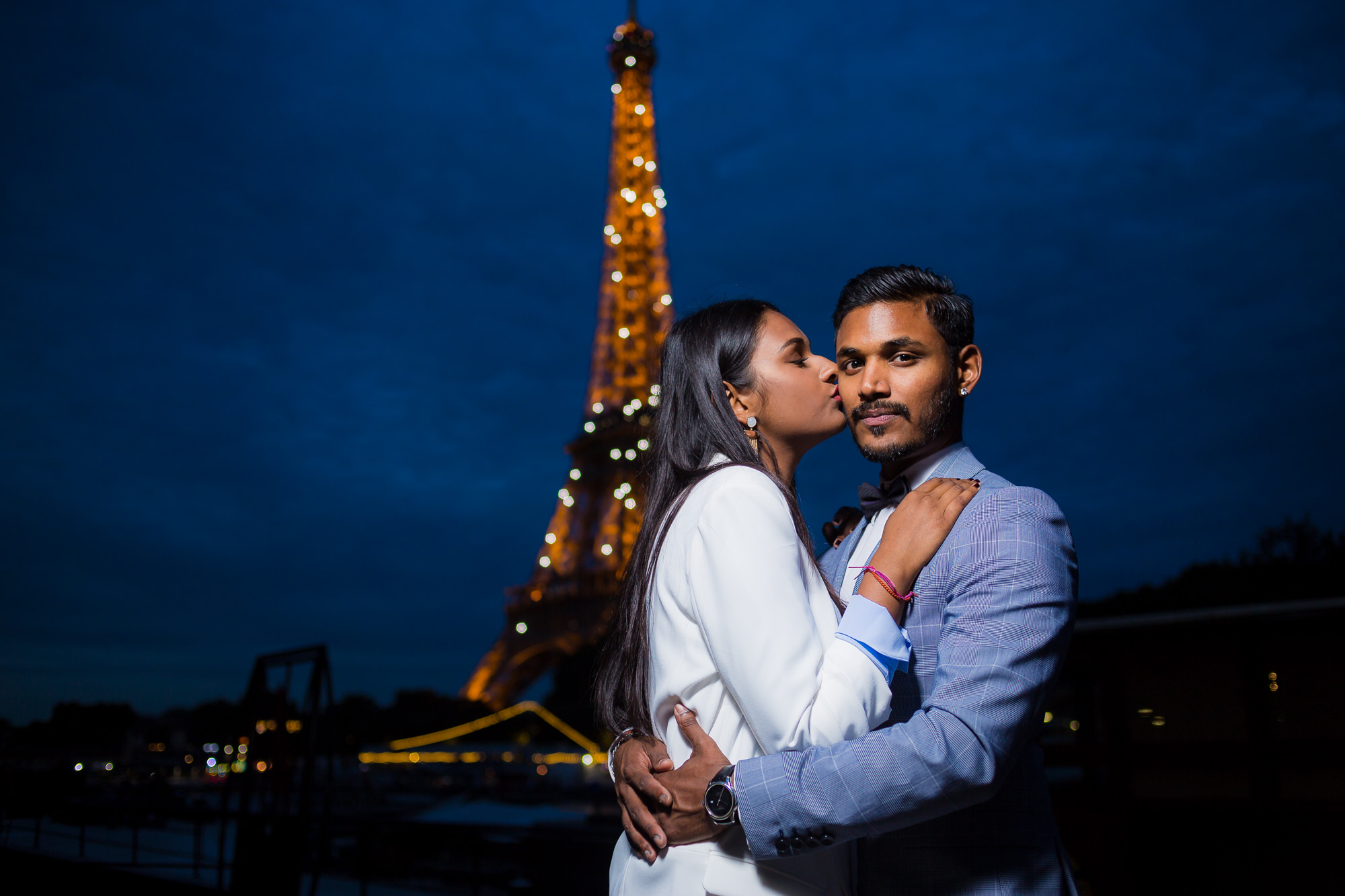 Séance engagement PARIS Mindu et Dhan s'aime à Paris
