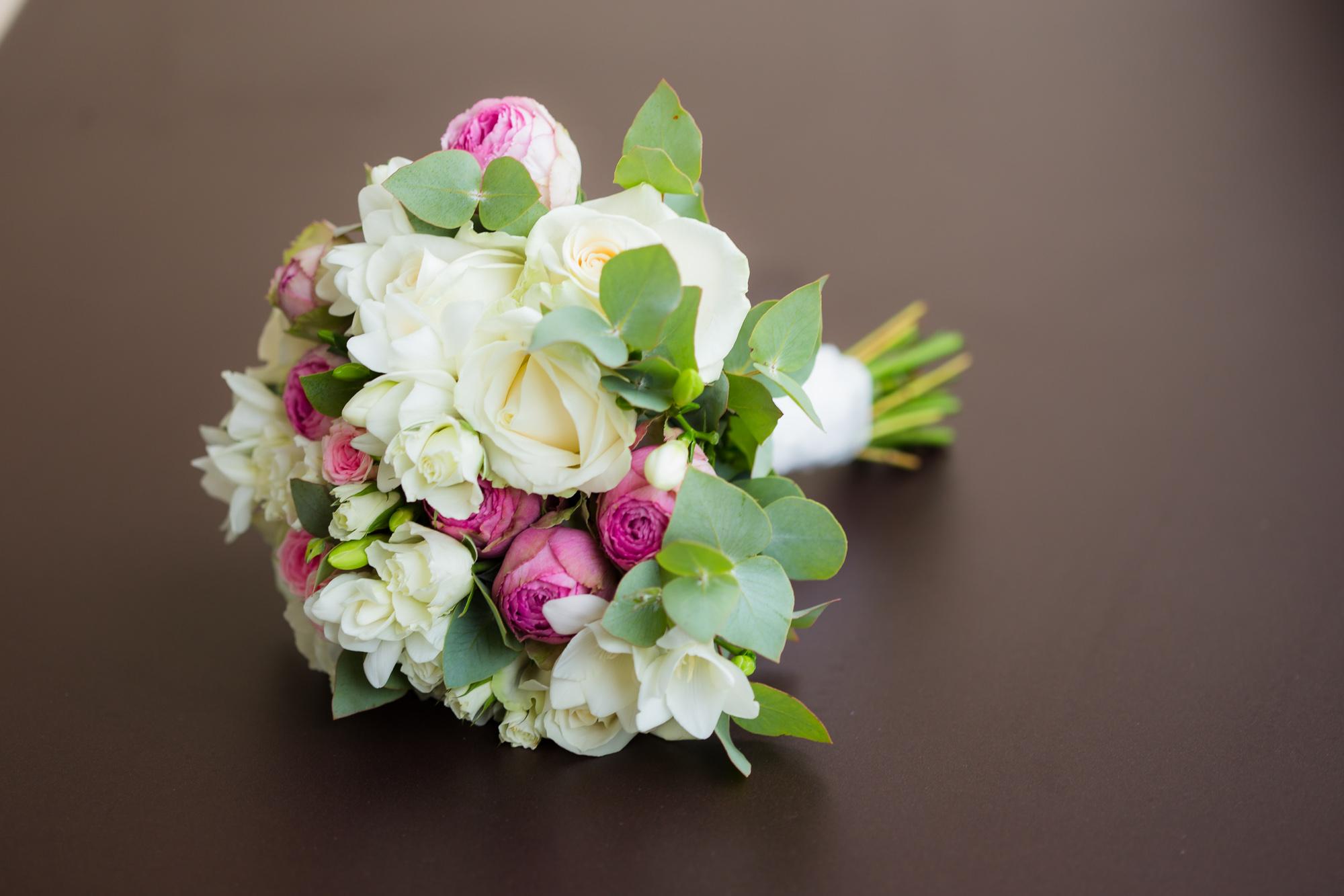 Mariage au Chalet de la Porte Jaune bouquet de fleur