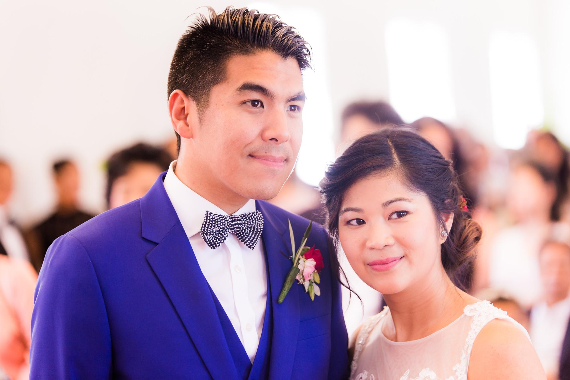 Mariage au Manoir des Cygnes Happy couple