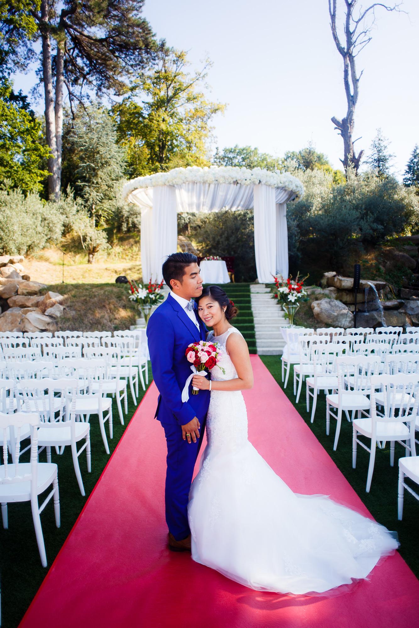 Mariage au Manoir des Cygnes Photo de couple manoir